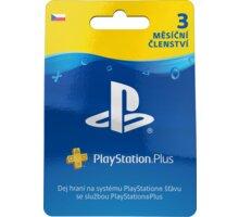 Playstation Plus Card - 3 měsíce