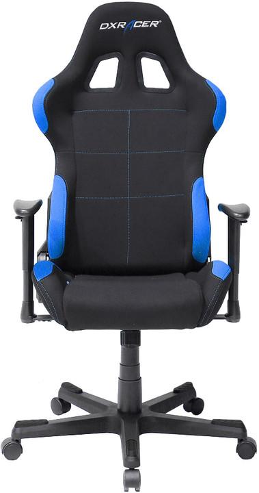 DXRacer Formula OH/FD01/NI, černá/modrá