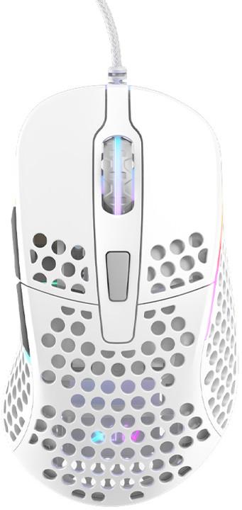 Xtrfy M4 RGB, bílá