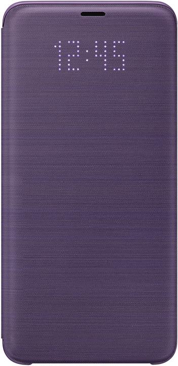 Samsung flipové pouzdro LED View pro Samsung Galaxy S9+, fialové