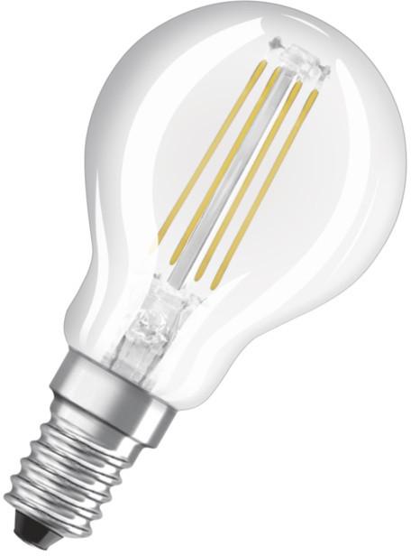 Osram LED Filament STAR ClasP 4W 827 E14 noDIM A++ 2700K