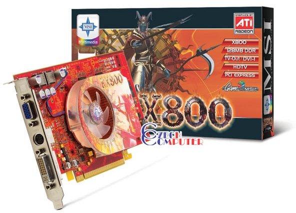 MicroStar RX800-TD128E 128MB, PCI-E