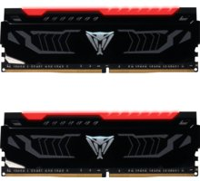 Patriot VIPER LED 16GB (2x8GB) DDR4 2666, red