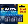 VARTA baterie Longlife Power AAA, 14+6ks