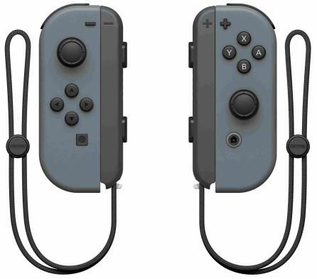 Nintendo Joy-Con (pár), šedý (SWITCH)