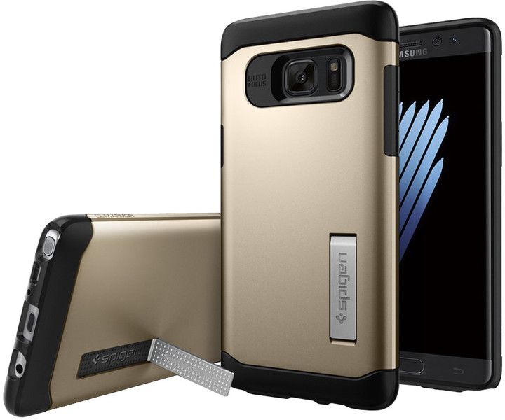 Spigen Case Slim Armor pro Galaxy Note 7, champagne gold