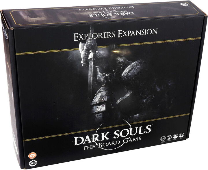 Desková hra Dark Souls - Explorers Expansion (rozšíření), (EN)