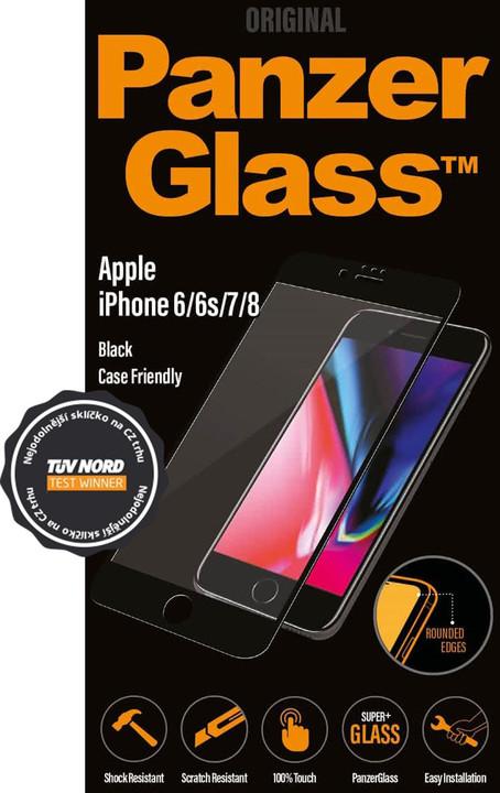 PanzerGlass Edge-to-Edge Privacy pro Apple iPhone 6/6s/7/8, černé