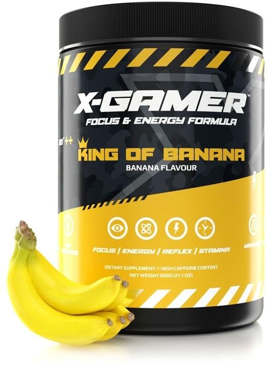Doplněk stravy X-Gamer X-Tubz - King Of Banana, 600g
