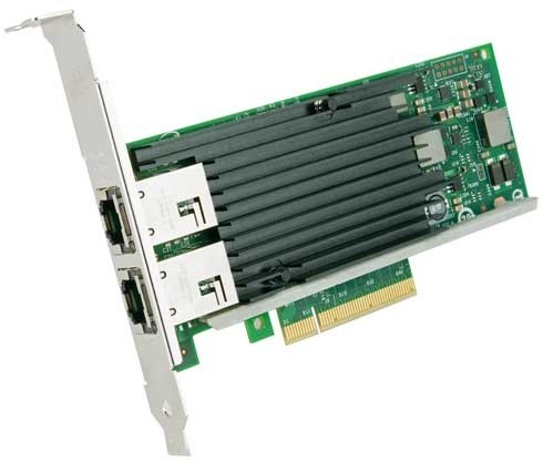Intel Ethernet Converged Network Adapter X540-T2 retail unit