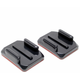 SJCAM Flat 2x & 2x Curved Mounts with 3M adhesive pads