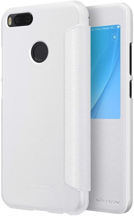 Nillkin Sparkle S-View Pouzdro White pro Xiaomi Mi A1