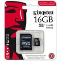 Kingston Industrial Micro SDHC 16GB Class 10 UHS-I + SD adaptér