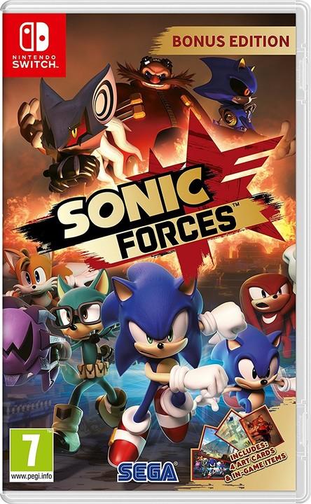 Sonic Forces - Bonus Edition (SWITCH)