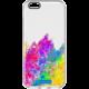 CellularLine STYLE průhledné gelové pouzdro pro Apple iPhone 6/6S, motiv ART