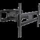 Stell SHO 3610 SLIM výsuvný držák TV, černá  + SHO B300 SLIM fixní držák TV (v ceně 599,-)