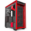 NZXT H700i, Matte Black/Red