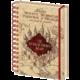Zápisník Harry Potter - The Marauders Map (Pobertův plánek), linkovaný, kroužková vazba, A5