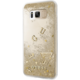 Guess Liquid Glitter Hard Case pro Samsung G955 Galaxy S8 Plus, Gold
