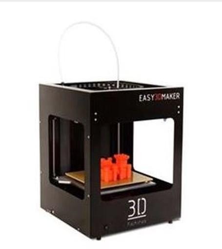 3D Factories EasyMaker, 3D tiskárna, černá 0,5 mm