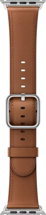 Apple watch náramek 42mm Saddle Brown Classic Buckle