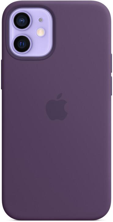 Apple silikonový kryt s MagSafe pro iPhone 12 mini, fialová