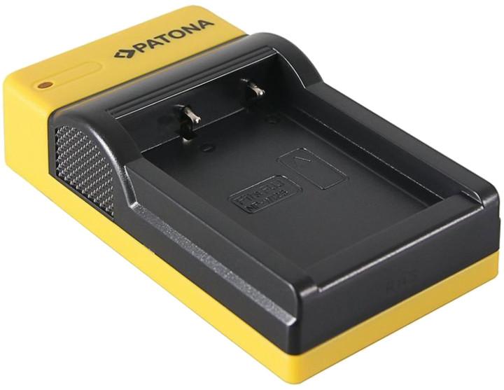 PATONA nabíječka Foto Panasonic DMW-BLG10 slim, USB