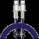BASEUS kabel Cafule USB-C - Lightning, nabíjecí, datový, PD 20W, 1m, fialová