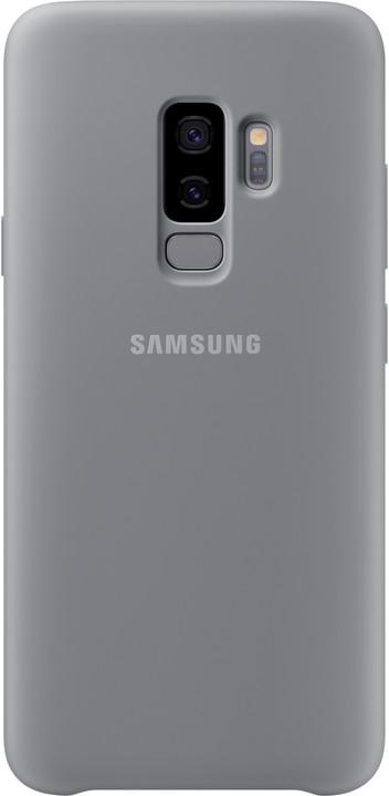 Samsung silikonový zadní kryt pro Samsung Galaxy S9+, šedý