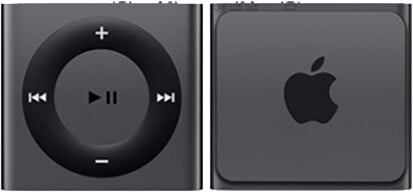 Apple iPod shuffle - 2GB, šedá, 4th gen.