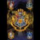 Plakát Harry Potter - Crests