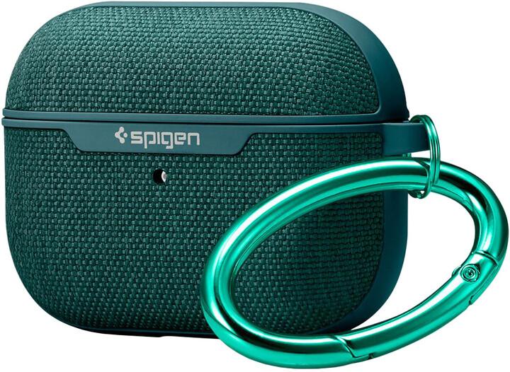 Spigen pouzdro Urban Fit pro AirPods Pro, tmavě zelená