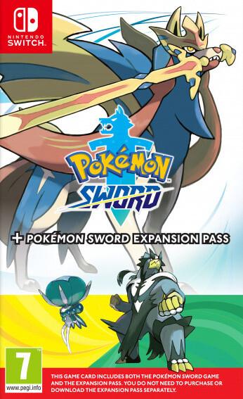 Pokémon Sword + Expansion pass (SWITCH)