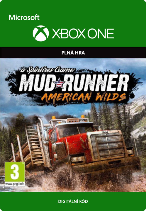 Spintires: MudRunner: American Wilds Edition (Xbox ONE) - elektronicky