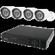 BML Safe kamerový systém CCTV 8CH + 4x kamera HD720p