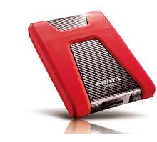 ADATA HD650, USB3.1 - 2TB, červený O2 TV Sport Pack na 3 měsíce (max. 1x na objednávku)