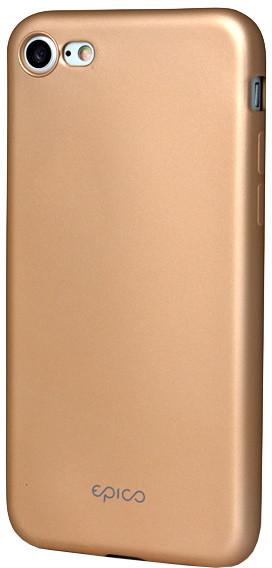 EPICO pružný plastový kryt pro iPhone 7 EPICO GLAMY - zlatý