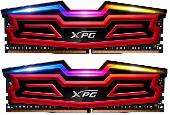 ADATA XPG SPECTRIX D40 16GB (2x8GB) DDR4 2400, červená