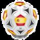 Reproduktor BT fotbal Španělsko, stříbrná v hodnotě 1 490 Kč