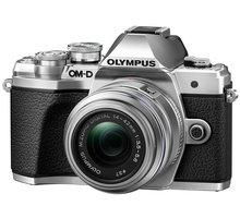Olympus E-M10 Mark III + 14-42mm II R, stříbrná - V207071SE000