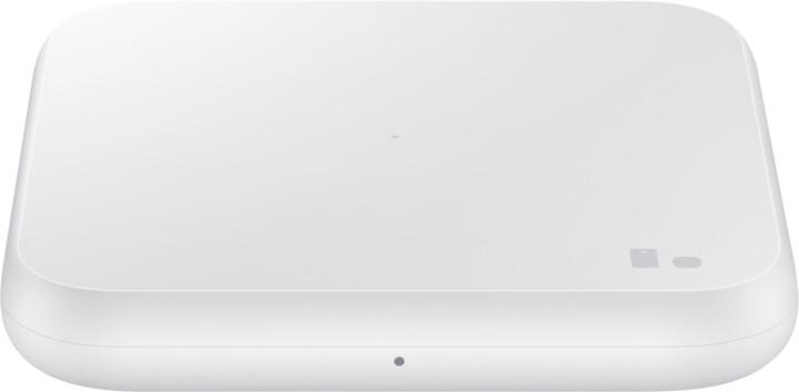 Samsung bezdrátová nabíjecí podložka, bez kabelu, 9W, bílá
