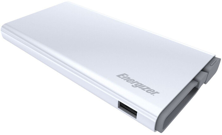 Energizer 10000mAh Quick Charge 3.0 Power Bank, bílá