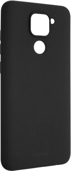 FIXED Story zadní pogumovaný kryt pro Xiaomi Redmi Note 9, černá