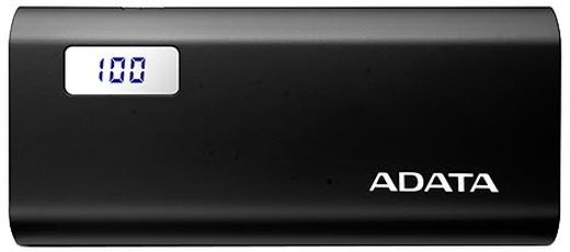 ADATA P12500D Power Bank 12500mAh, černá