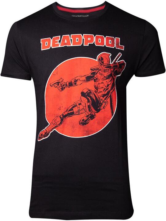 Tričko Deadpool - Vintage (S)