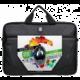 PORT DESIGNS POLARIS Toploading brašna na 15,6'' notebook + USB MOUSE, černá