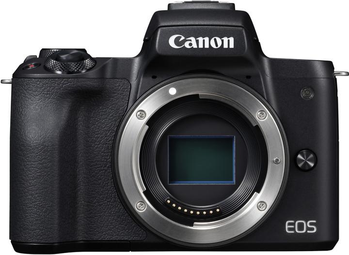 Canon EOS M50, tělo, černá