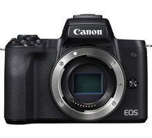 Canon EOS M50, tělo, černá Ponožky se vzorem - velikost 38 - 42 v hodnotě 219 Kč + Získejte zpět 800 po registraci