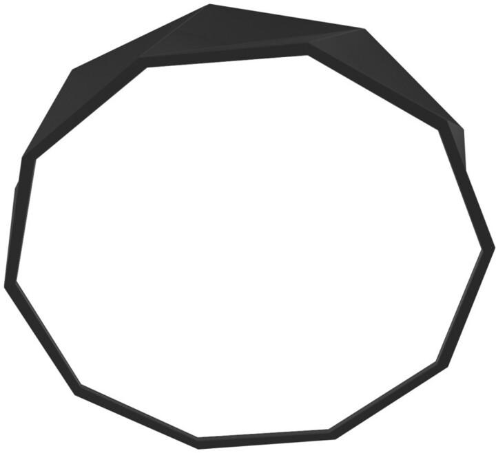 IMMAX NEO DIAMANTE Smart stropní svítidlo 60cm 43W černé Zigbee 3.0