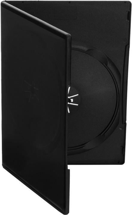 Cover It box:1 DVD 9mm slim černý - karton 100ks